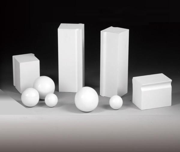 高耐磨氧化铝衬砖/球石